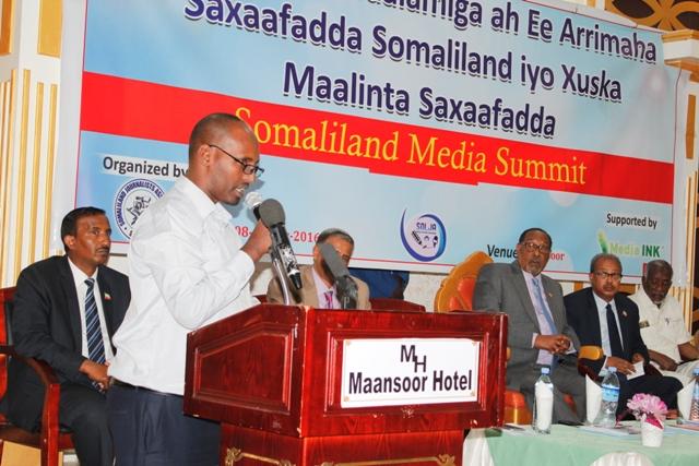 SOLJA Chairman, Mohamud Abdi Jama