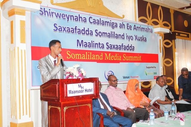 Yahye Mohamed, SOLJA Executive Director.
